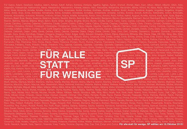 Wahlen 2015 Sp Schweiz