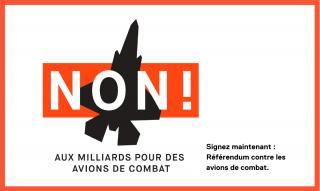 NON aux avions de combat !