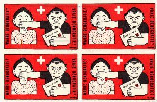 Timbre pour l'introduction du droit de vote des femmes 1929