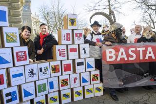 Einreichung Gotthard-Referendum