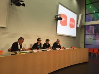 """Medienkonferenz """"Gesundheit"""" der SP Schweiz"""