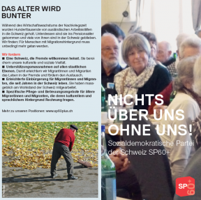 Flyer SP 60+ Titelbild